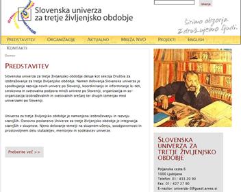 Univerza za tretje življenjsko obdobje Slovenija